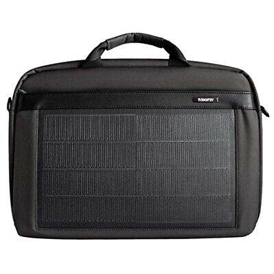 HANERGY Solar Powered Laptop Case Messenger Bag (Black) New