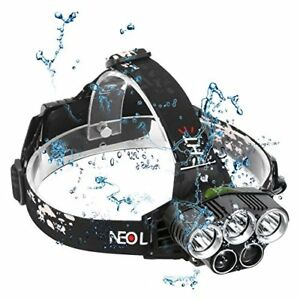 Head Torch LED Rechargeable, Neolight Super Bright USB ...