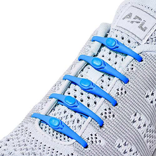 HICKIES Tie-Free Laces (2.0 New) - Electric Blue
