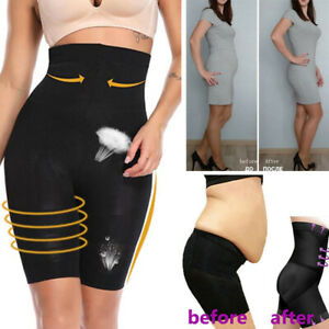 High Waisted Tummy Control Body Shaper Mid Thigh Panties ...