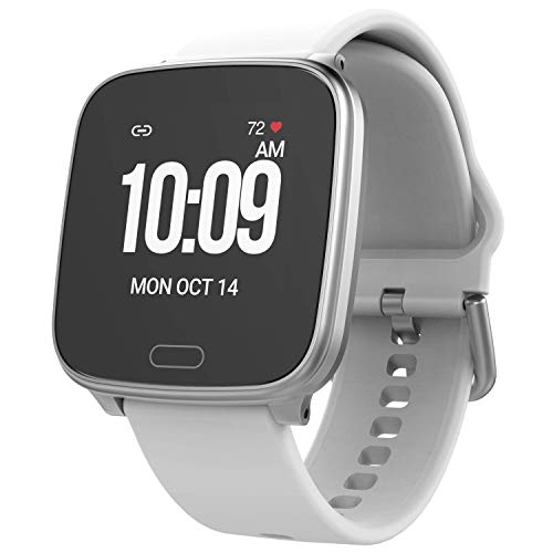 iConnect by Timex TW5M34200 Active Gray/Silver Smartwatch