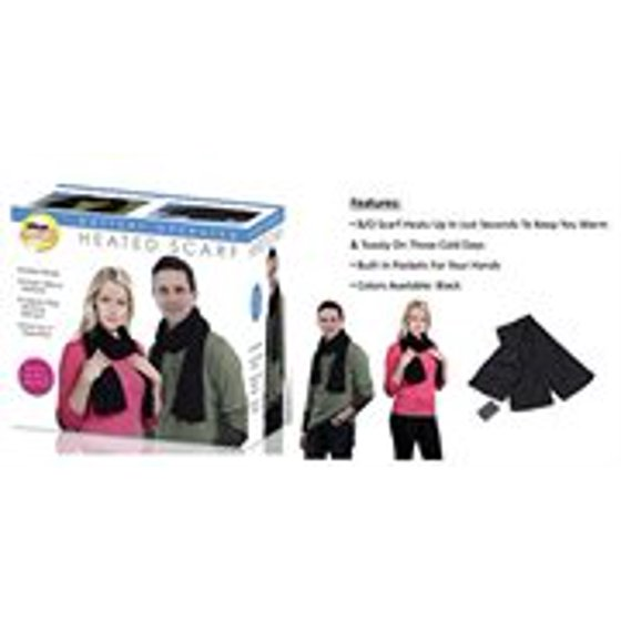 ideas-in-motion - battery operated heated scarf - Walmart.com