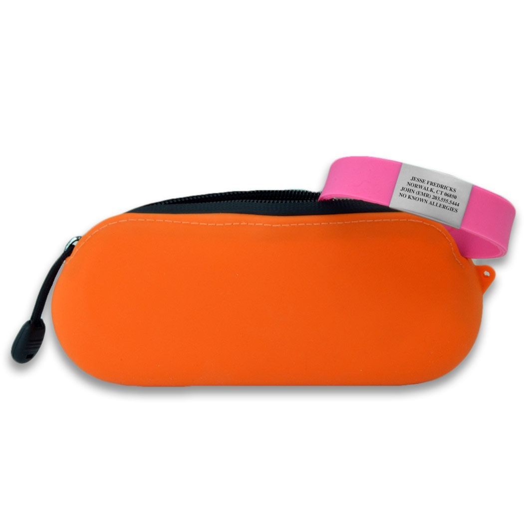 IDmeBAND Silicone Lite Bracelet – ID Band for Runners
