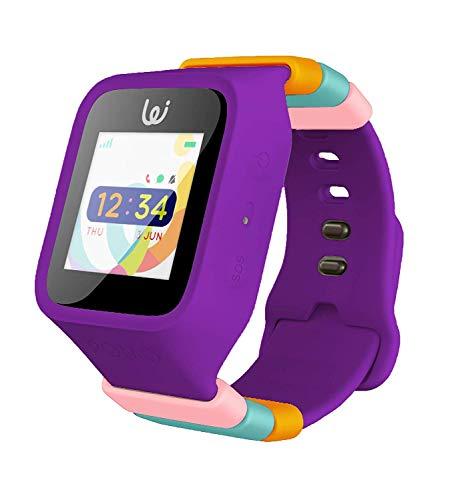 iGPS Wizard Smart Watch - Tracking Watch for Kids (Purple)