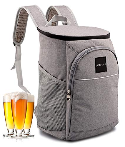 Insulated Cooler Backpack - GRAY