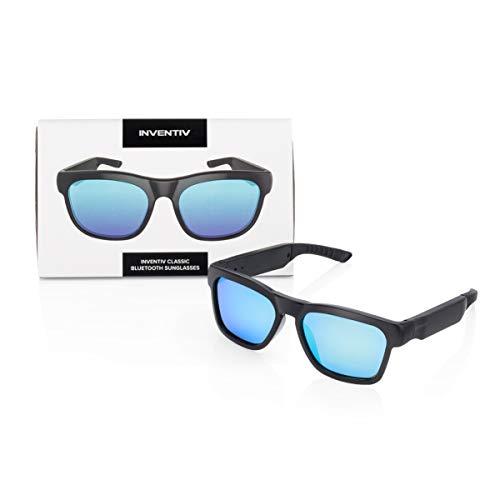 Inventiv Sunglasses (Black Frame/Blue Tint)