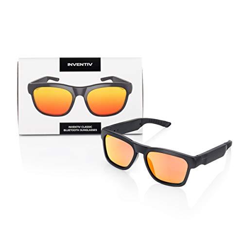 Inventiv Sunglasses (Black Frame/Red Tint)
