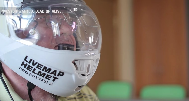 Is an augmented-reality motorcycle helmet still forthcoming?
