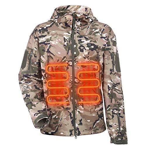 ITIEBO Men's Heated Jacket - CAMOUFLAGE