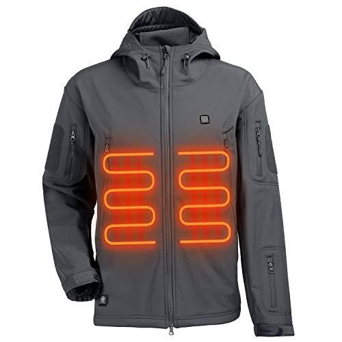 ITIEBO Men's Heated Jacket - GRAY