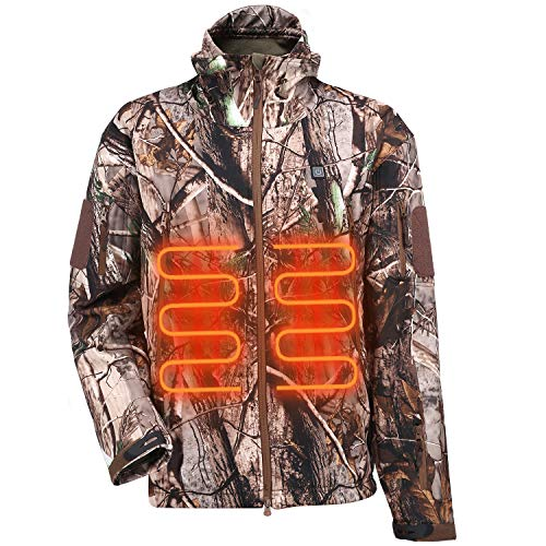 ITIEBO Men's Heated Jacket - TREE COLOR