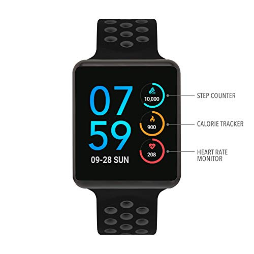 iTouch Air Special Edition - Black/Grey, 45mm (Medium/Large)