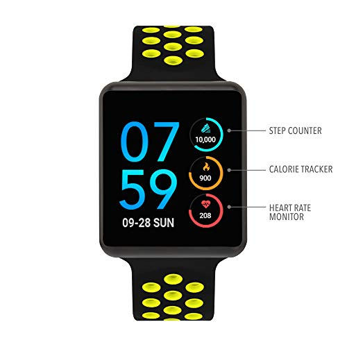 iTouch Air Special Edition - Black/Lime, 45mm (Medium/Large)
