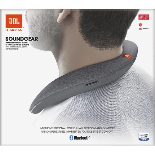 JBL Soundgear Speaker (Gray) JBLSOUNDGEARGRYAM B&H Photo Video