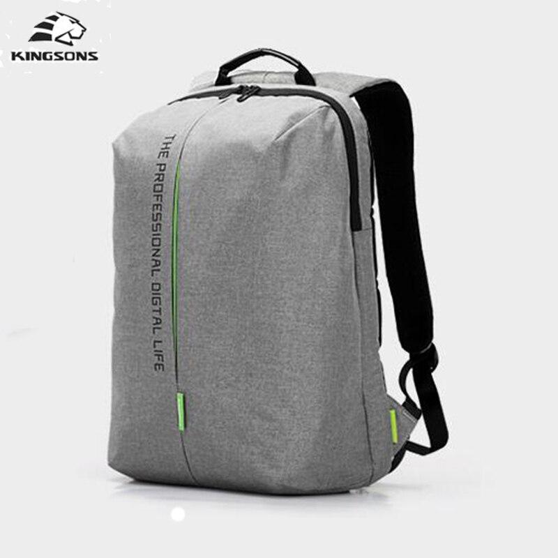 Kingsons Men's Backpack 15.6 Inch Laptop High Quality ...