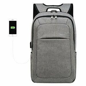 KOPACK Slim Business Laptop Backpack USB Anti Thief/Tear ...