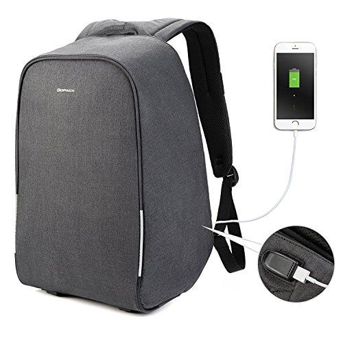 KOPACK Waterproof Anti Theft Laptop Backpack Usb Charging ...