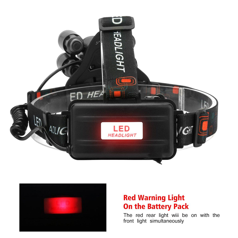 LED Headlamps, Neolight Super Bright 5 LED High Lumen ...