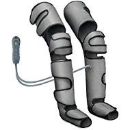 Leg Massager for Circulation & Relaxation for Home Use - Massage Legs, Calf, Foot, Thighs, Knees – Battery Powered SCD Boot for Restless Leg, Muscle Pain with Controller (Dark Grey)