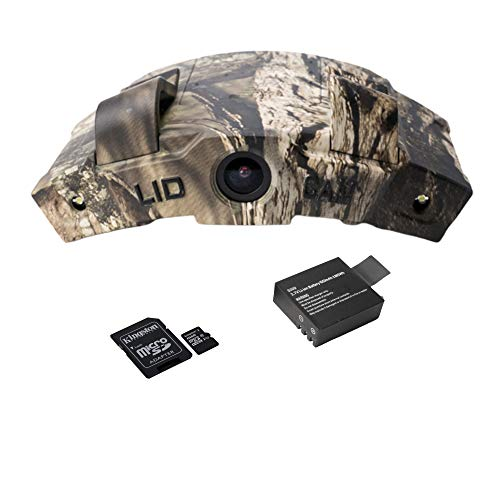 LiDCAM LC-WF Hands Free Digital Camouflage Action Camera with 16gb microSD Card, 1080P HD Wi-Fi with Full Audio