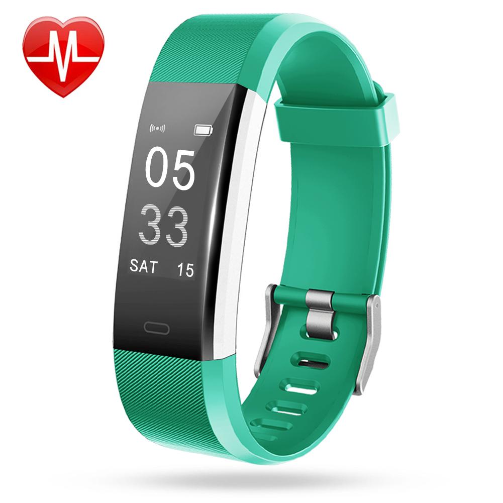 Lintelek Fitness Tracker ID115Plus HR – lintelek.com