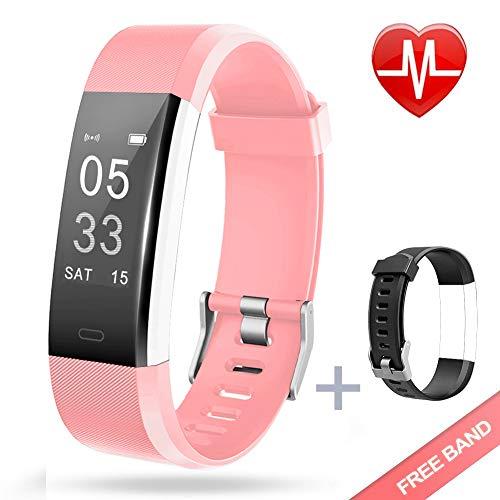 Lintelek Fitness Tracker - PINK