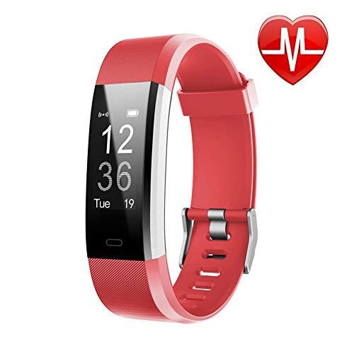 Lintelek Fitness Tracker - RED