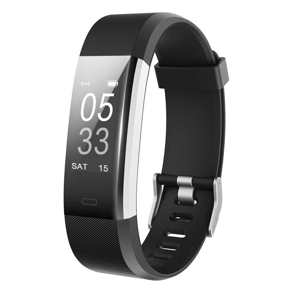 Lintelek Fitness Tracker with Heart Rate Monitor, Activity ...