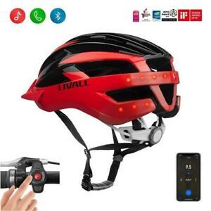 LIVALL MT1 Smart Bike Helmet Bluetooth Speakers Lights SOS ...