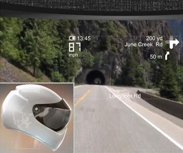LiveMap - Bike Helmet with Built-In Navigation ...