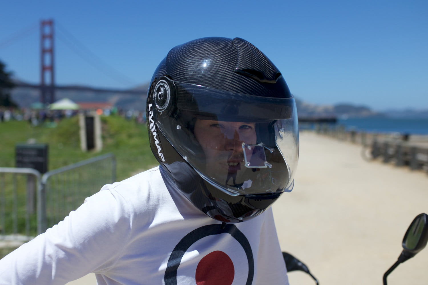Livemap Brings Improved Design to its AR Motorcycle Helmet ...