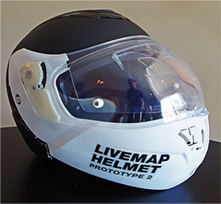 LiveMap: Motorcycle smart helmet with Augmented Reality ...