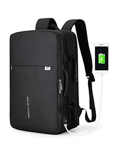 Mark Ryden 40L Carry-on Travel Backpack underseat Flight bag fit 17.3 Laptop