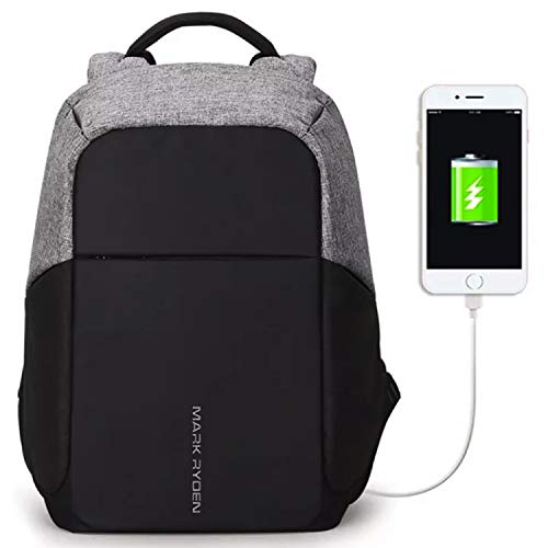 Markryden Anti-Theft Laptop Backpack + Charging - MULTICOLORED 2.1