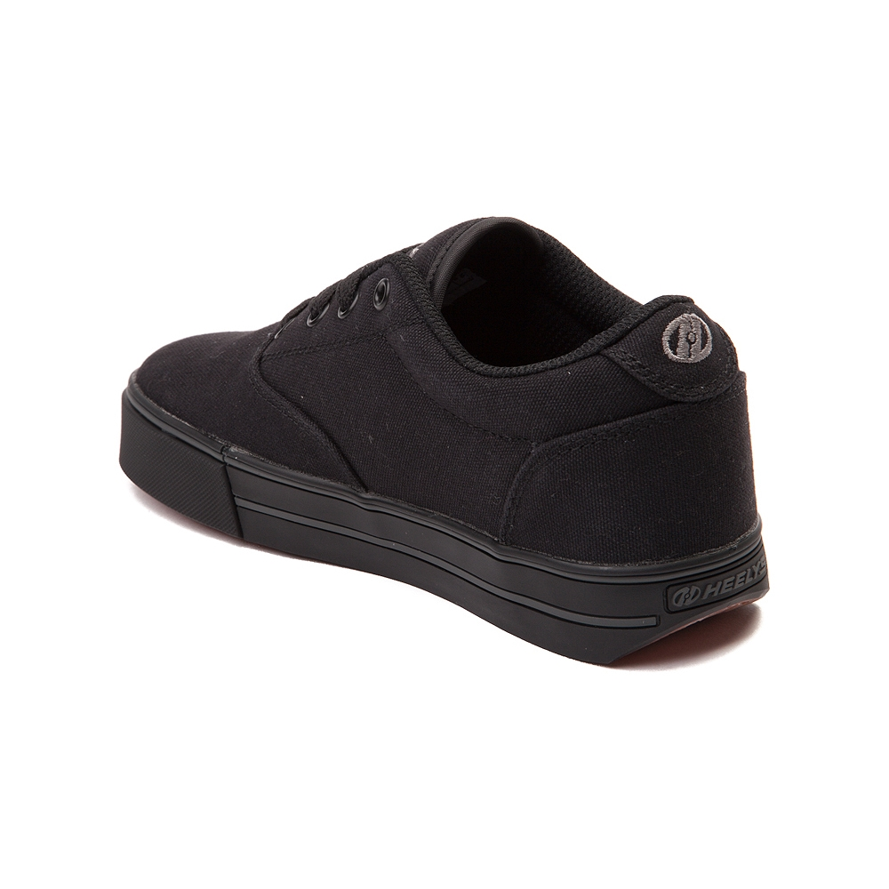 Mens Heelys Launch Skate Shoe - Black - 1479835
