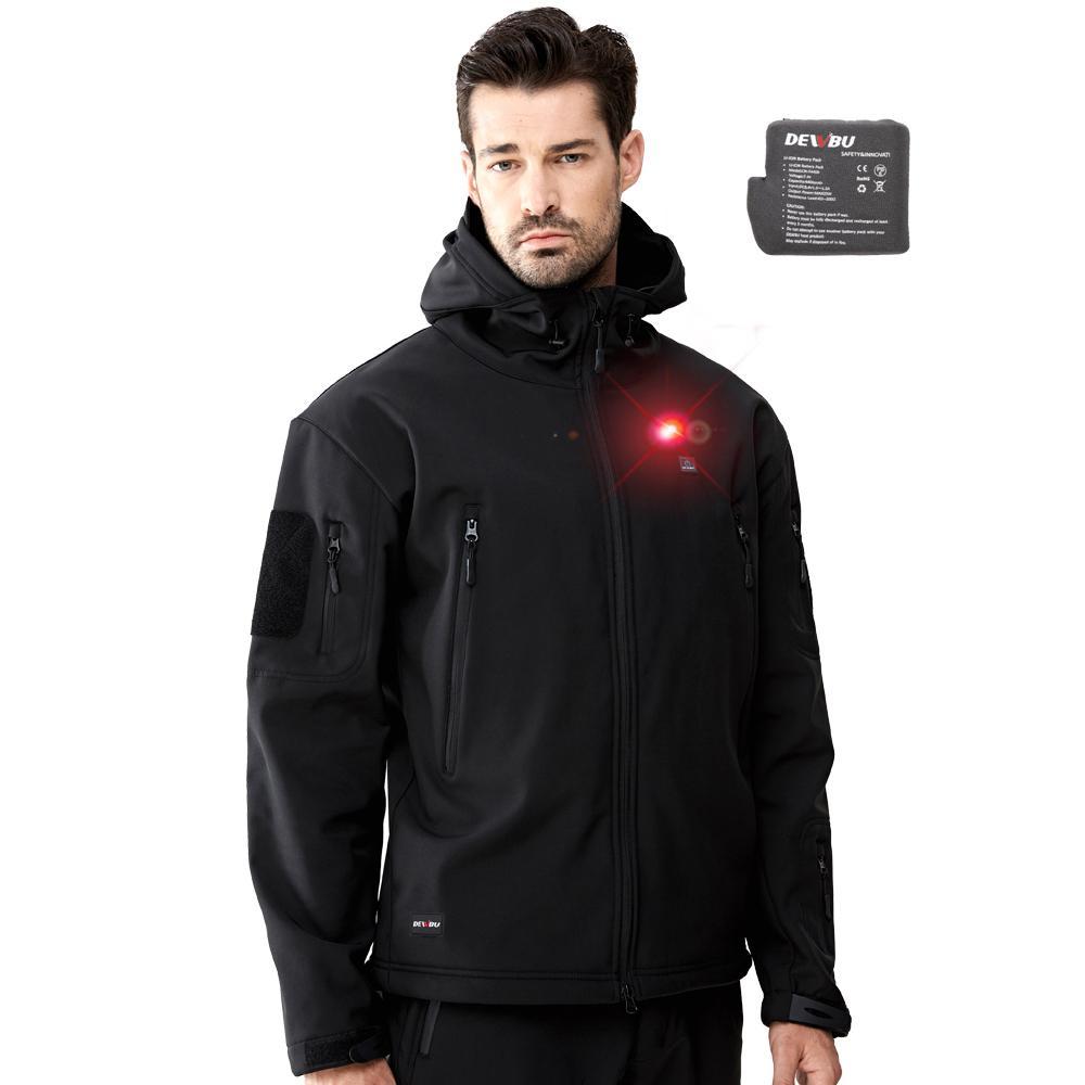 DEWBU Heated Soft Shell Jacket