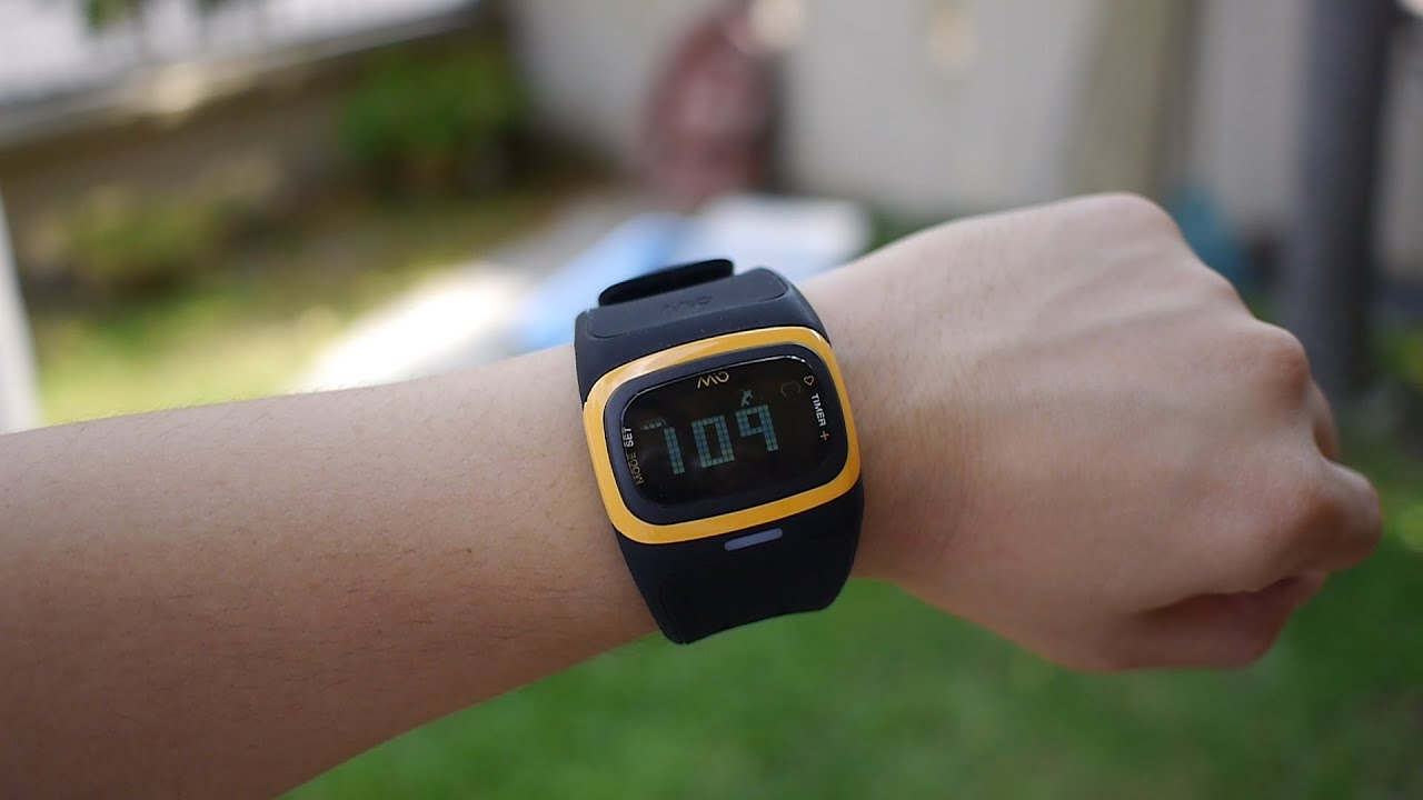 Mio Alpha 2 Sports Watch Review - YouTube