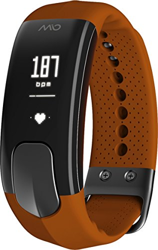 MIO Slice Heart-Rate-Monitors, Sienna, Small