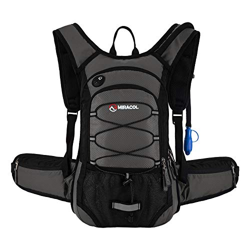 MIRACOL Hydration Backpack 2L - LIGHT GREY
