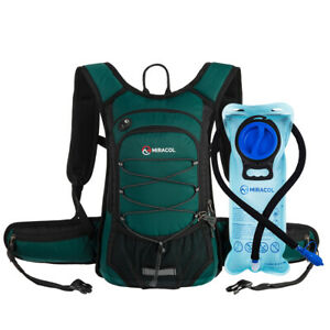MIRACOL Hydration Backpack with 2L Water Bladder Bag ...