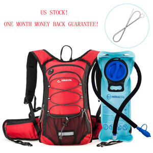 MIRACOL Hydration Backpack with 2L Water Bladder Perfect ...