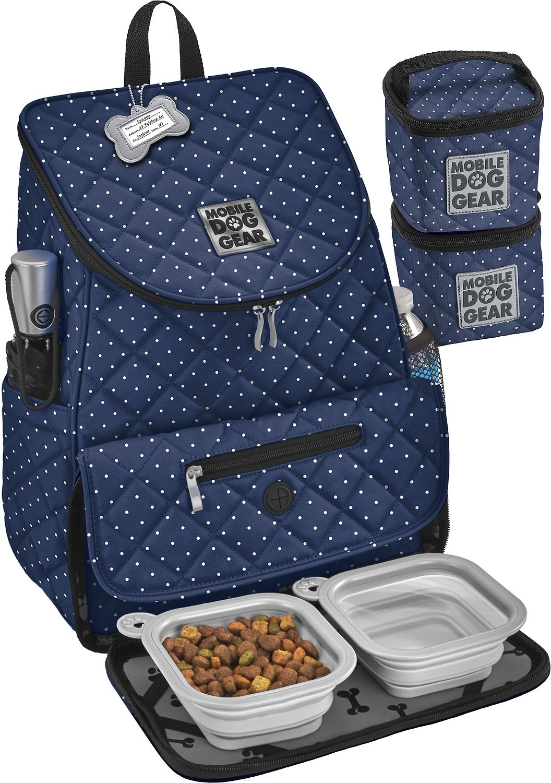 Mobile Dog Gear Weekender Backpack Pet Travel Bag, Navy ...