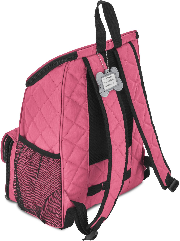 Mobile Dog Gear Weekender Backpack Pet Travel Bag, Pink ...