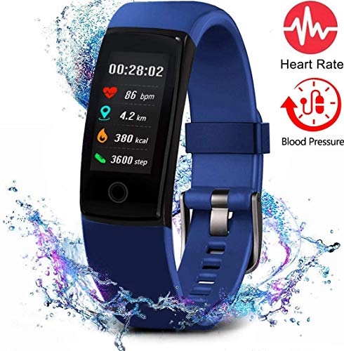 MorePro Fitness Tracker - BLUE
