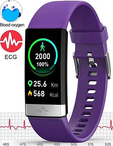 MorePro Fitness Tracker HRV - Purple