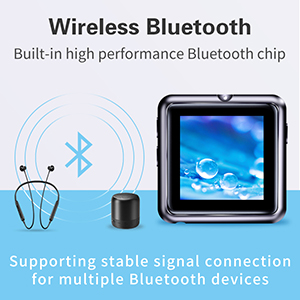 Mymahdi Sport Music Clip,8 GB Bluetooth MP3 Player with FM ...