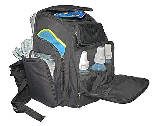 Nappy Bags - Large Diaper Bag Backpack with Power Pack ...