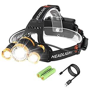 Neolight LED Headlamp, Super Bright 5 LED High Lumen ...