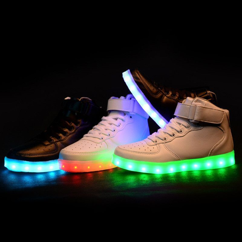 New LED Luminous Sneakers SE6562 | Light up shoes, Glow ...