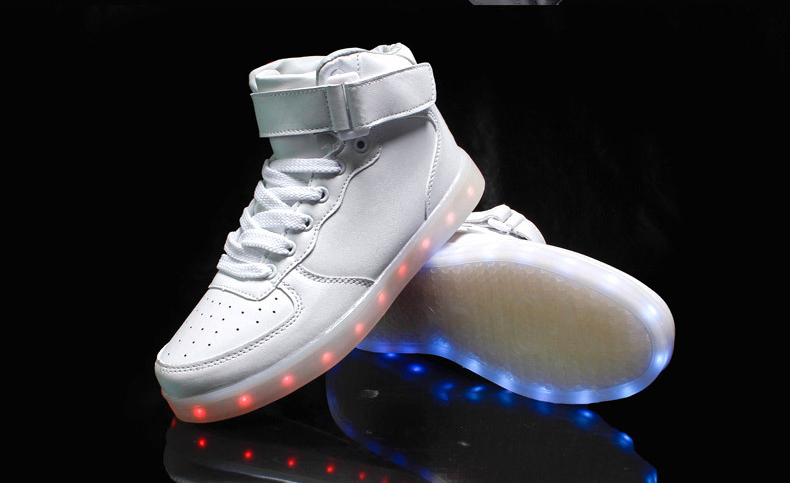 New style led light up shoes flashing sneakers · Cute ...
